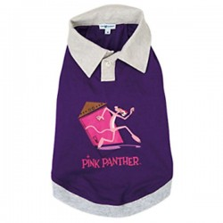 PINK PANTHER Polo per Cane Tg. S/30 cm Viola