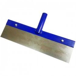Raschietto in metallo per pavimenti porta manico per Colombi Da 35 cm