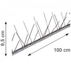 Dissuasore per Volatili acciaio inox riccio da 100 cm 66 punte