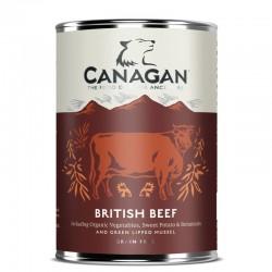 CANAGAN British Beef CIBO UMIDO PER CANE con Manzo Inglese da 400 gr