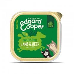 Edgard & Cooper Lamb & Beef Cibo umido per Gatti grain-free da 85 gr con Agnello e Manzo
