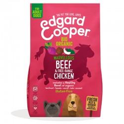 Edgard & Cooper Beef & Free-Range Chicken Crocchette Biologiche per Cane da 2,5 kg con Manzo e Pollo