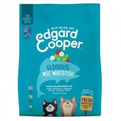 Edgard & Cooper MSC White Fish Crocchette Grain-Free per Gatto da 300 gr con Pesce Bianco