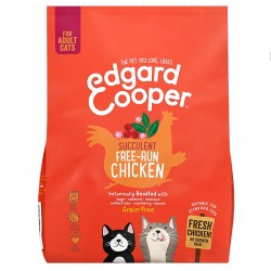Edgard & Cooper Free-Run Chicken Crocchette Grain-Free per Gatto da 300 gr con Pollo