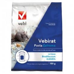 Vebi Vebirat Pasta Extreme Esca Rodenticida pronta all'uso da 150 gr