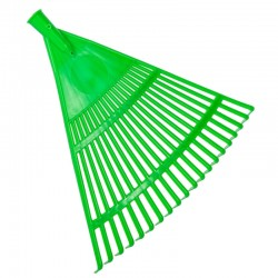Stea 010 Scope per foglie e olive in polipropilene verde 45 cm 20 denti