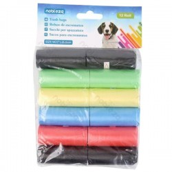 12 rotoli Sacchetti Igienici per cane 210x315 mm