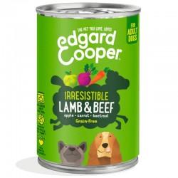 Edgard & Cooper Lamb & Beef Cibo umido Grain-free per Cane da 400 gr con Agnello e Manzo