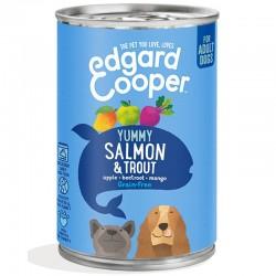 Edgard & Cooper Salmon & Trout Cibo umido Grain-free per Cane da 400 gr con Salmone e Trota