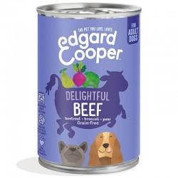Edgard & Cooper Beef Cibo umido Grain-free per Cane da 400 gr con Manzo