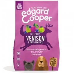 Edgard & Cooper Venison & Free-run Duck Crocchette Grain-Free per Cane da 2,5 kg con Cervo e Anatra