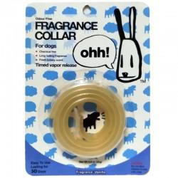 OHH! FRAGRANCE COLLAR Collare in Silicone Universale Profumato per Cane 10mm alla Vaniglia