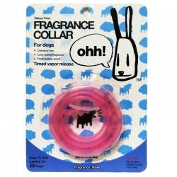 OHH! FRAGRANCE COLLAR Collare in Silicone Universale Profumato per Cane 10mm alla Rosa