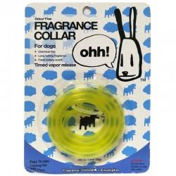 OHH! FRAGRANCE COLLAR Collare in Silicone Universale Profumato per Cane 10mm alla Citronella e Eucalipto