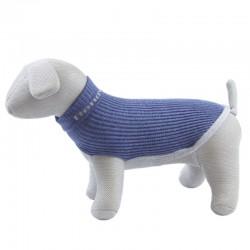 Trixie Bengy Pippo Maglioncino in lana per Cane Tg. 21 cm Blu Denim