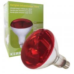Kerbl Lampada Infrarossi E27 240V 150W ideale per Suini e Pulcini