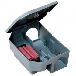 Vebi Murin Box Stazione di Sicurezza per Esche Rodenticide per Topi e ratti