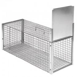 Novital Trappola per Piccoli Predatori a una Entrata 82x32x34h cm in metallo
