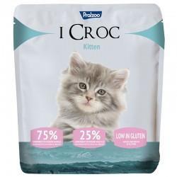 Pralzoo I Croc Kitten Ciibo Secco per Gatto da 400g con 75% di componenti di origine animale