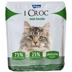 Pralzoo I Croc Adult Sensible Ciibo Secco per Gatto da 400g con 75% di componenti di origine animale