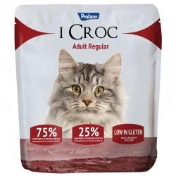 Pralzoo I Croc Adult Regular Ciibo Secco per Gatto da 400g con 75% di componenti di origine animale