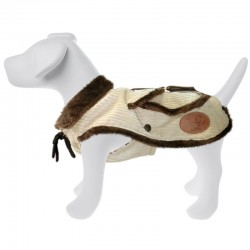 Dog Line Old England Cappottino in velluto per Cane Tg. 24 cm