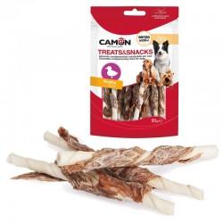Camon Stick masticabili al petto di Anatra Snack per Cane da 80 gr