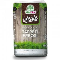 Vitaflor Ideale Terriccio Tappeti Erbosi da 70 litri per Prati e Aiuole