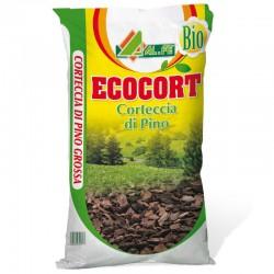 AL.FE Ecocort Corteccia di Pino per Pacciamatura da 60 litrii