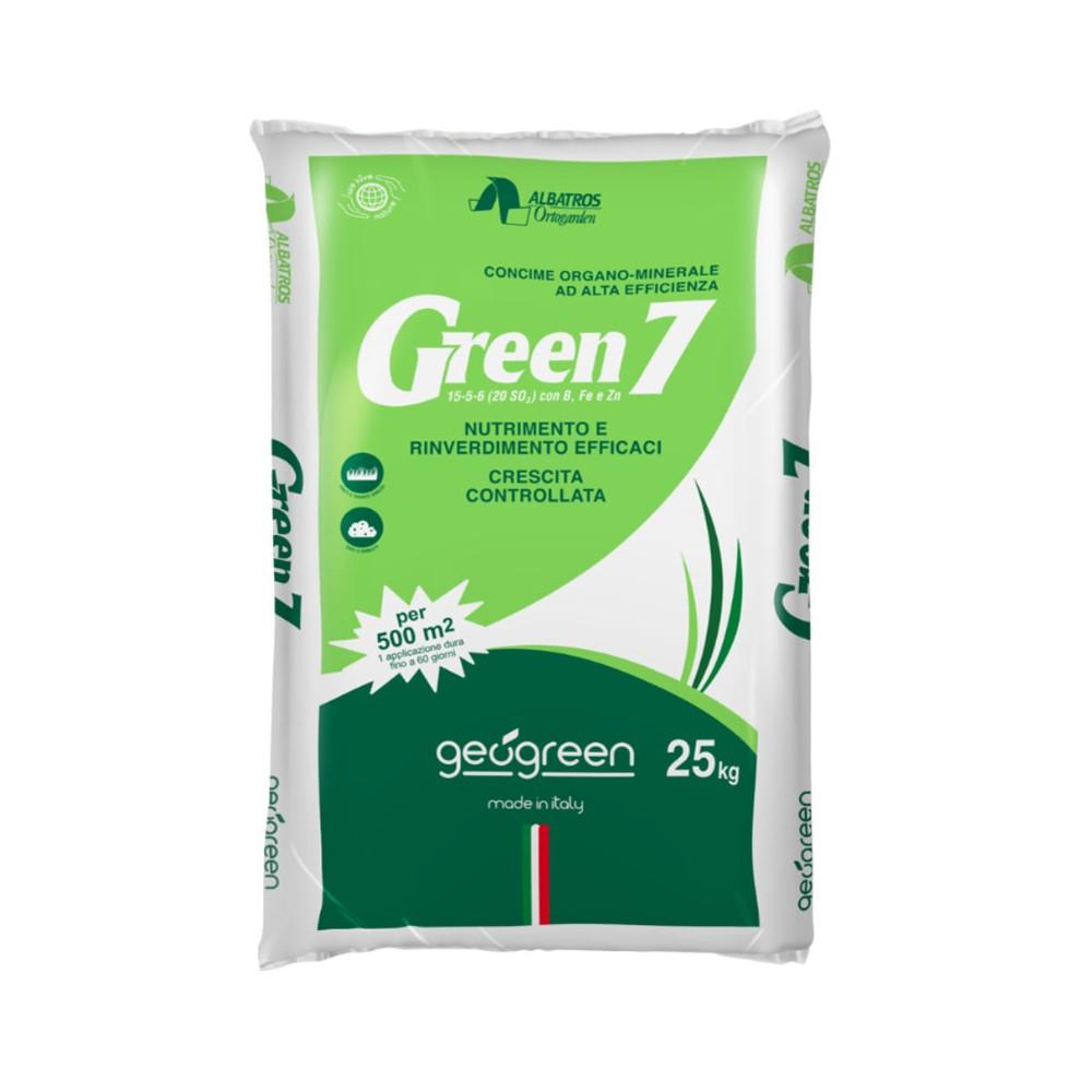 Concime Per Prato Autunnale dettagli su geogreen green 7 concime organo minerale per tappeti erbosi da  25 kg per 500mq -