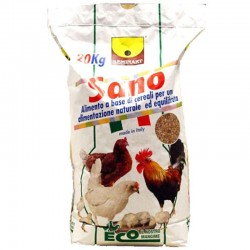 Seminart Sano Mangime Completo Misto per Polli da 20 kg