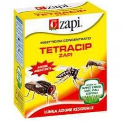 Zapi Tetracip Insetticida concentrato contro Mosche Zanzare Formiche Scarafaggi Pulci da 100 ml.