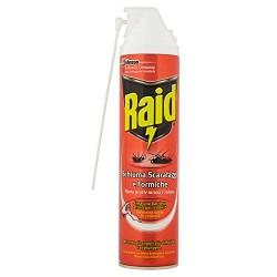 Raid Scarafaggi e Formiche Schiuma Attiva Spray da 400 ml