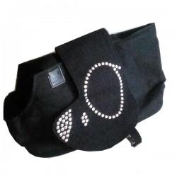 UNITED PETS Borsa Tessuto Jeans e Nylon per trasporto Cane 32x17x24h cm