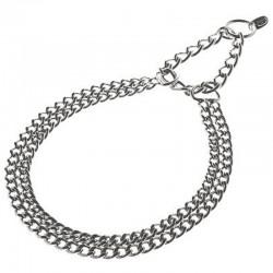 Ferribiella Collare in Acciaio Semi Strangolo Per Cane 600 x 2,5 mm