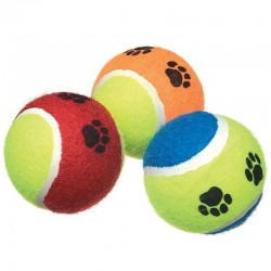 Camon Palla da Tennis City Color Gioco per Cane Ø 62 mm Colori vari