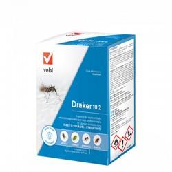 Vebi Draker 10.2 Insetticida Concentrato Contro Insetti Volanti e Striscianti da 250 ml