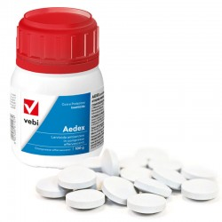 Vebi Aedex Larvicida Antizanzare In Compresse Effervescenti Conf. da 100 g - 50 compresse