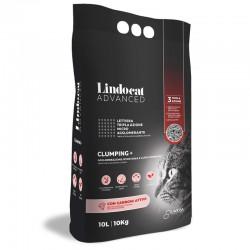 LINDOCAT ADVANCED Clumping Plus Con Carboni Attivi Lettiera Micro Agglomerante Bianca per Gatto da 10 litri bentonite