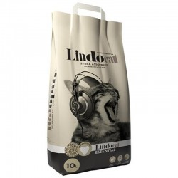 LINDOCAT Essential Lettiera Assorbente Antiodori con Urasite per Gatto da 20 litri