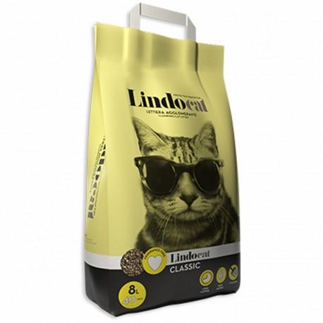 LINDOCAT Classic Lettiera Agglomerante Neutra per Gatto da 20 litri Bentonite