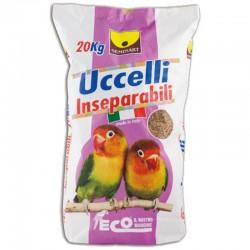 Seminart Mangime Sfuso per Uccelli Inseparabili o Parrocchetti Eco da 800 g