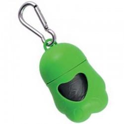 Imac Dispenser Zampa Portasacchetti Igienici per Cane + rotolo sacchetti OMAGGIO