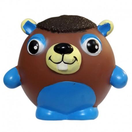Camon Vinyl Toy Palla In Vinile A forma di Animale con Squeaker Gioco Per Cane da 8 cm