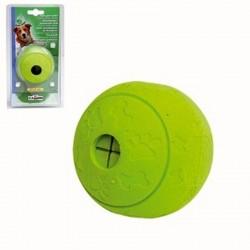 Camon Palla Spargi Ricompensa Green Apple in Gomma mm Gioco per Cane da 7,5 cm