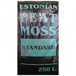 Estonian Pet Moss Standard Torba Bionda Acida di Sfagno da 32 kg / 250 litri