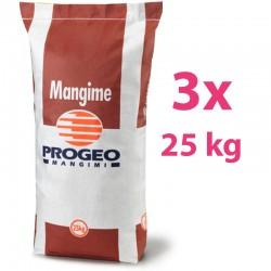 3x25 kg Progeo DIANA LEPRI Pellet Mangime Completo per Lepri