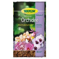TERFLOR ORCHIDEE Terriccio da 5 litri piante tropicali con radici aeree