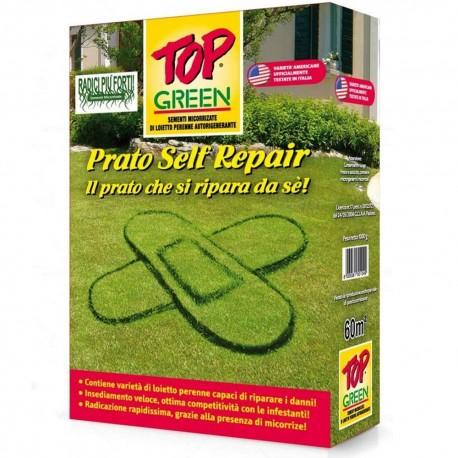 Top Green Prato Self Repair Sementi Capaci di Riparare i Danni 1 kg x 60mq