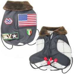 PET'S CREATION - CAPPOTTINO TOP GUN PER CANI